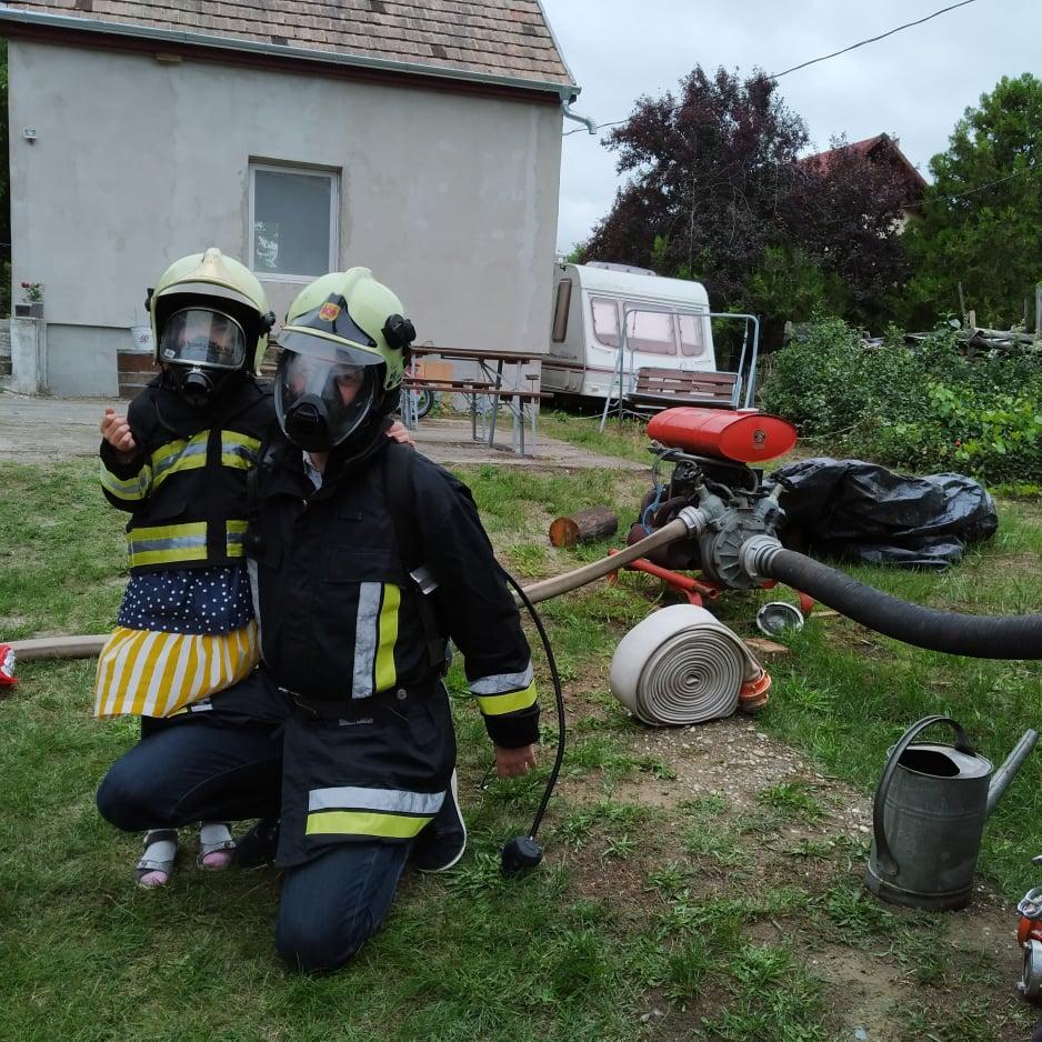 tűzoltó felnőtteknél