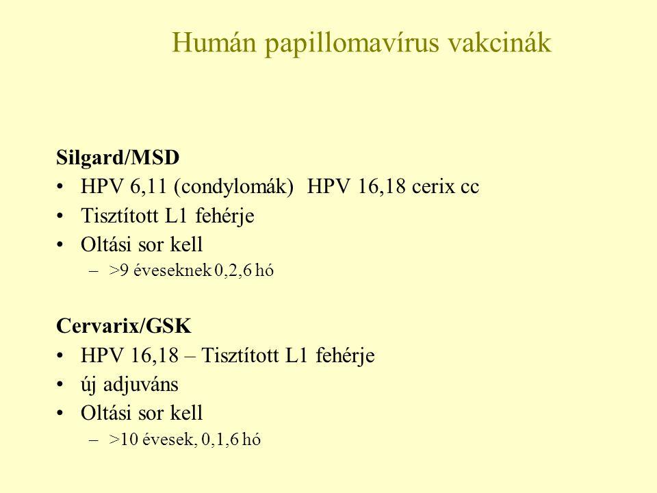 emberi papilloma vírus csecsemőkön oxabaktériumok 48