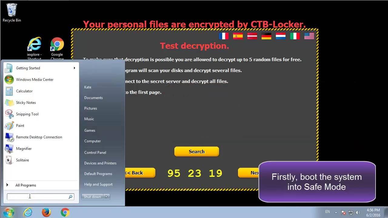 ransomware vírus)